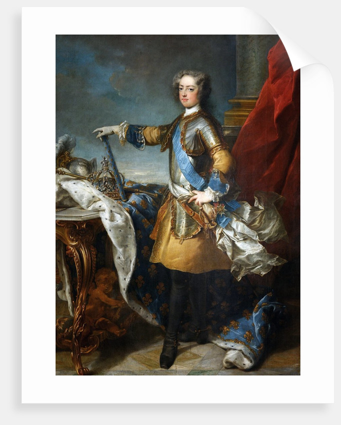Louis XV, King of France and Navarre by Jean-Baptiste van Loo
