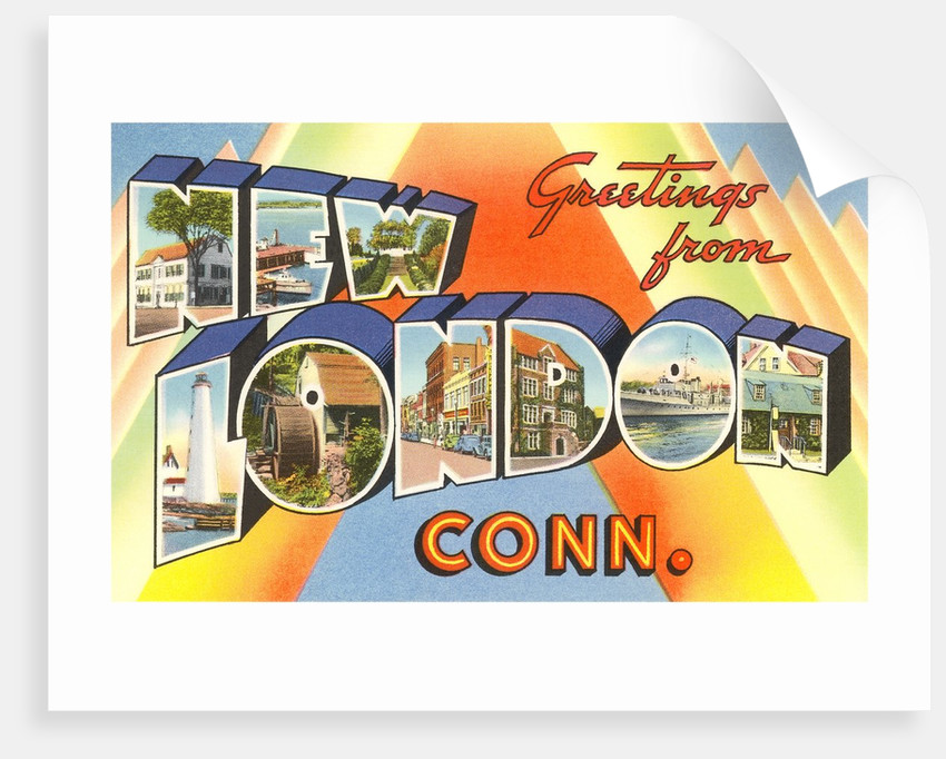 Greetings from New London, Connecticut by Corbis