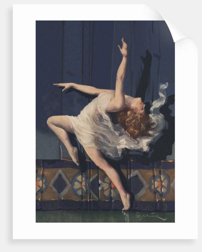 Dancing woman by Corbis