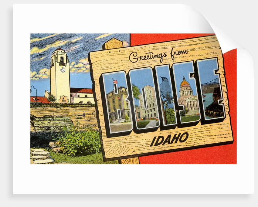 Greetings from Boise, Idaho by Corbis