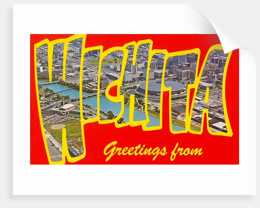 Greetings from Wichita, Kansas by Corbis