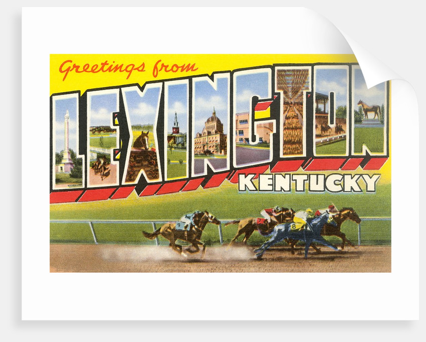 Greetings from Lexington, Kentucky by Corbis