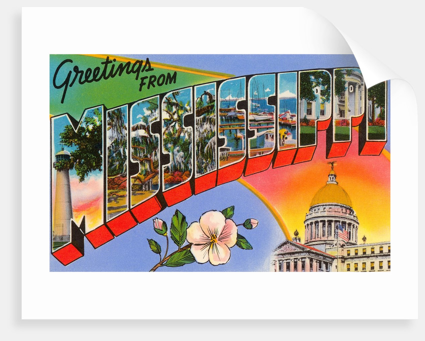 Greetings from Mississippi by Corbis