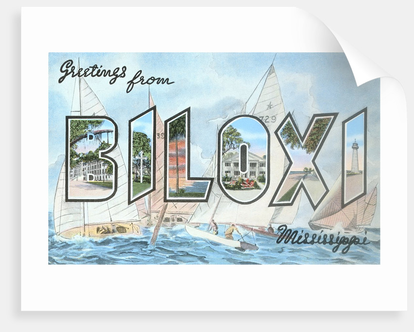 Greetings from Biloxi, Mississippi by Corbis