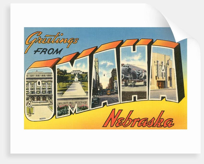 Greetings from Omaha, Nebraska by Corbis