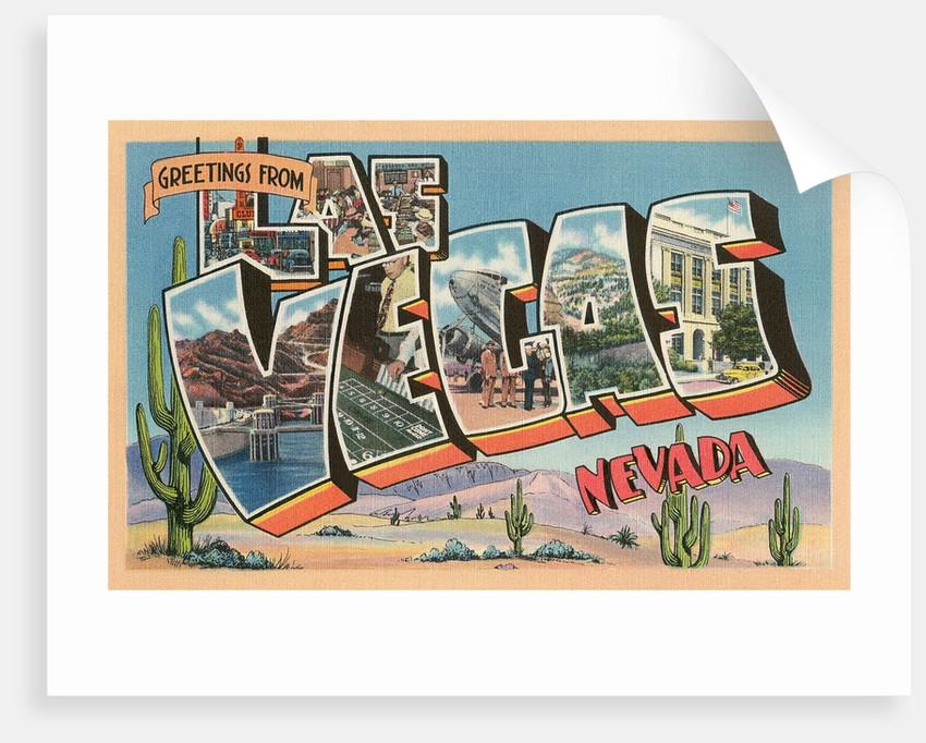 Greetings from Las Vegas, Nevada by Corbis