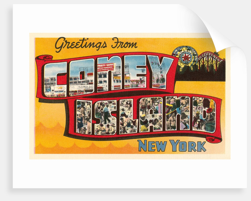 Greetings from Coney Island, New York by Corbis