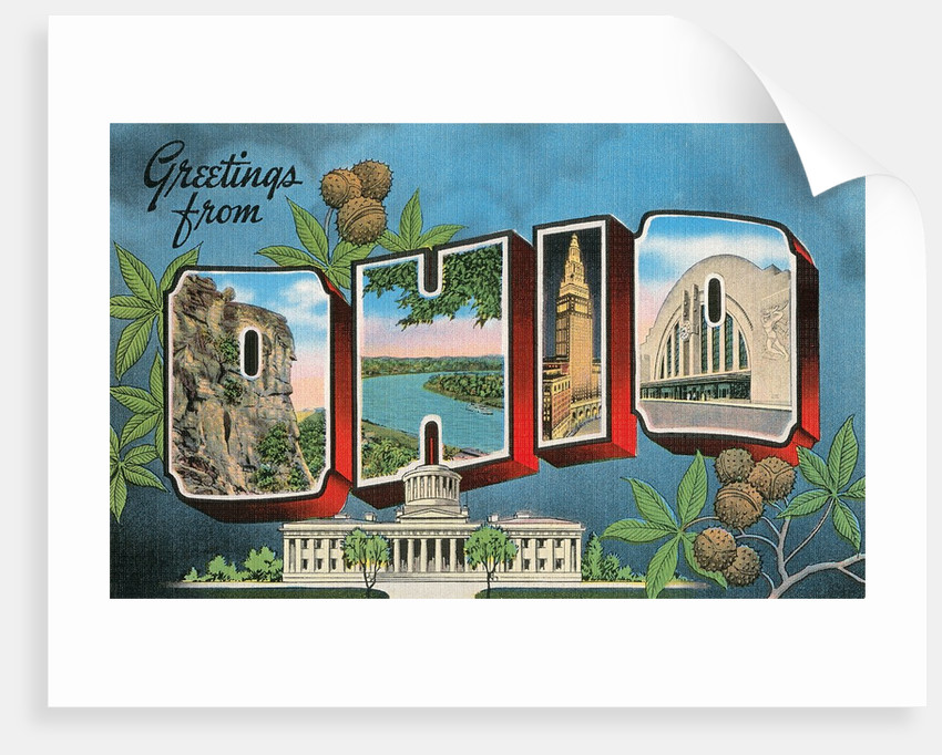 Greetings from Ohio by Corbis