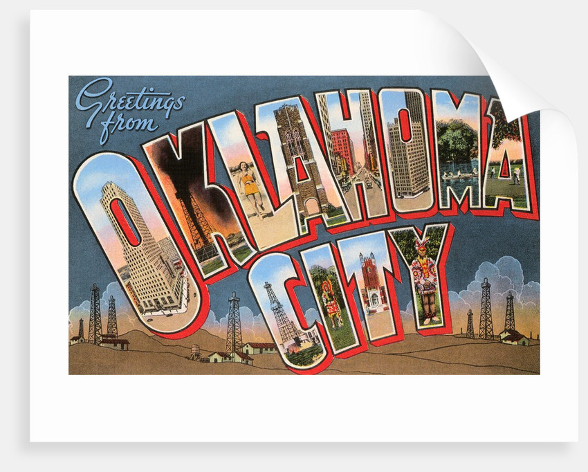 Greetings from Oklahoma City, Oklahoma by Corbis