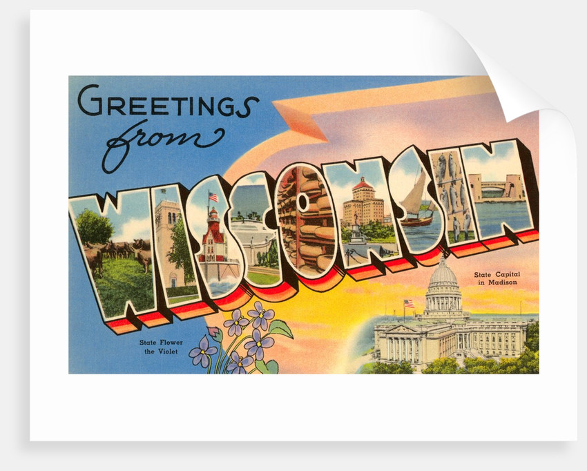 Greetings from Wisconsin by Corbis
