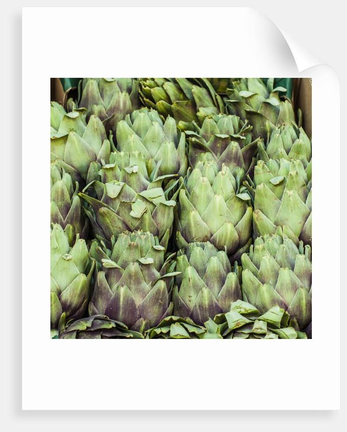 Fresh Artichokes Carmel Market by Corbis