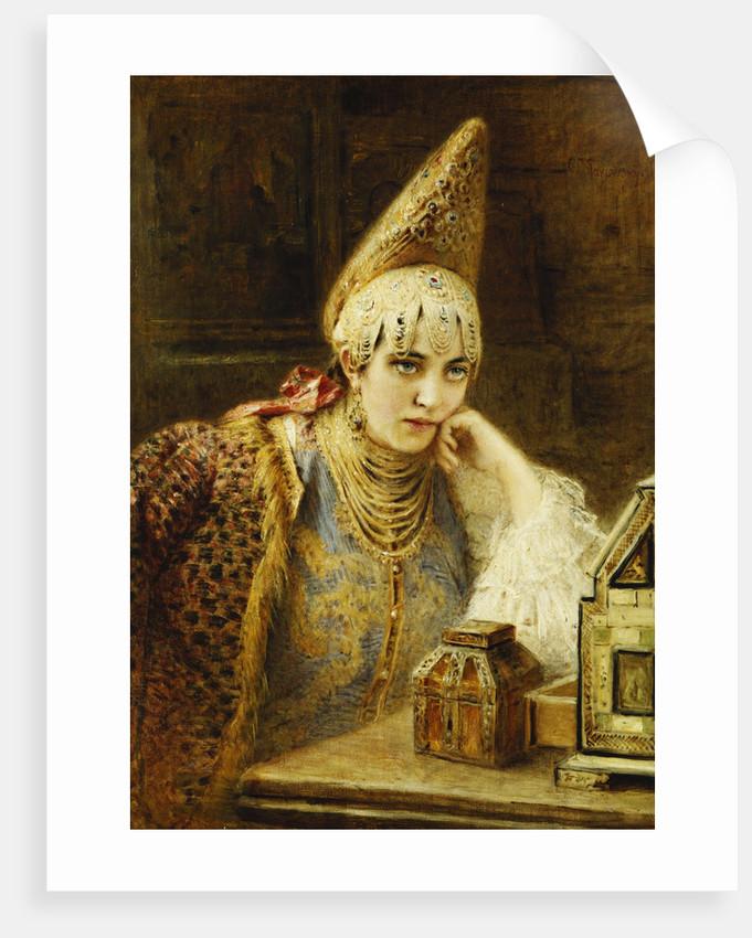 The Young Bride by Konstantin Makovsky