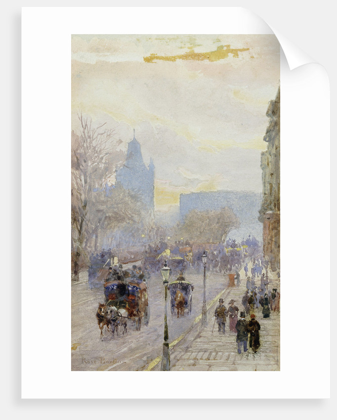 A Street in London by Rose Barton