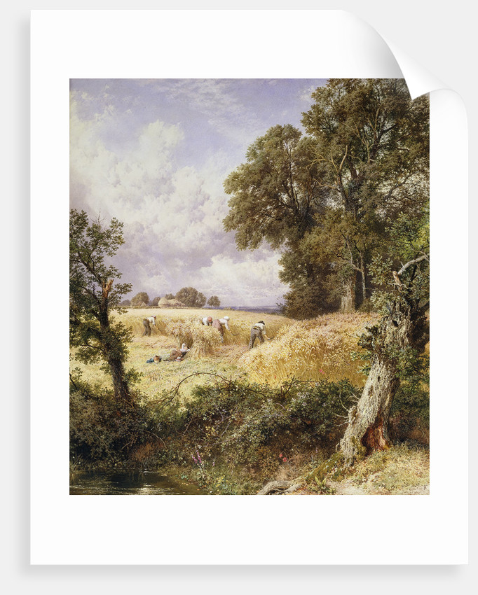 The Reapers by Myles Birket Foster
