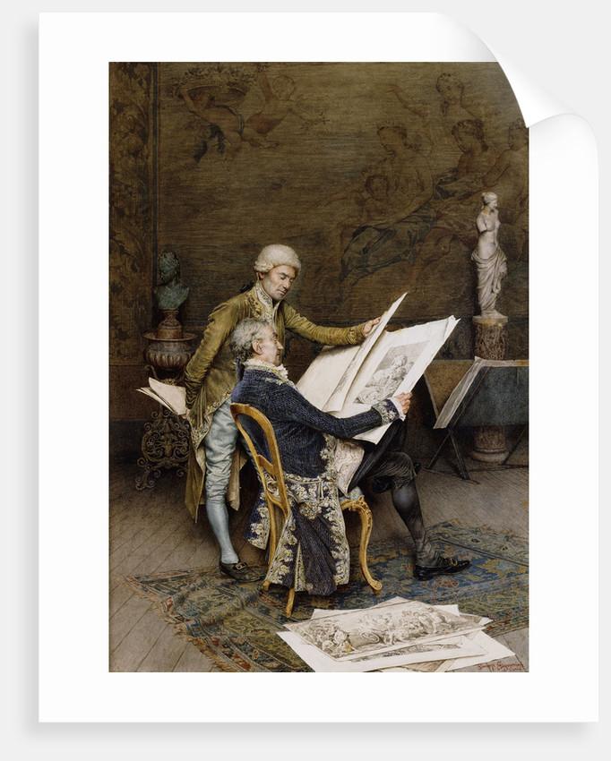 The Connoisseurs by Giuseppe Signorini