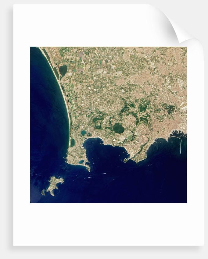 Naples and the Campi Flegrei Volcanic Region by Corbis