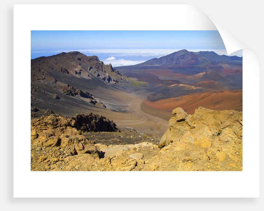 Haleakala Crater, Maui, Hawaii by Corbis