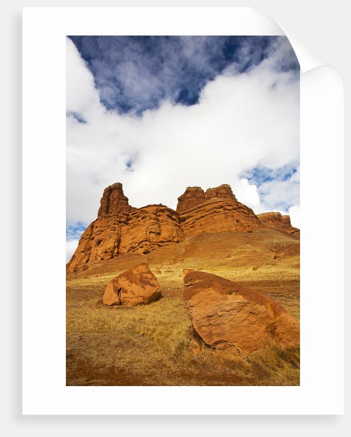 Red Rock Cliffs by Corbis