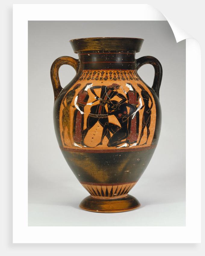 An Attic black-figure amphora by Corbis