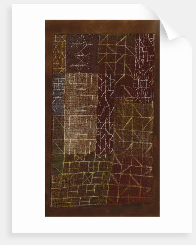 Curtain by Paul Klee