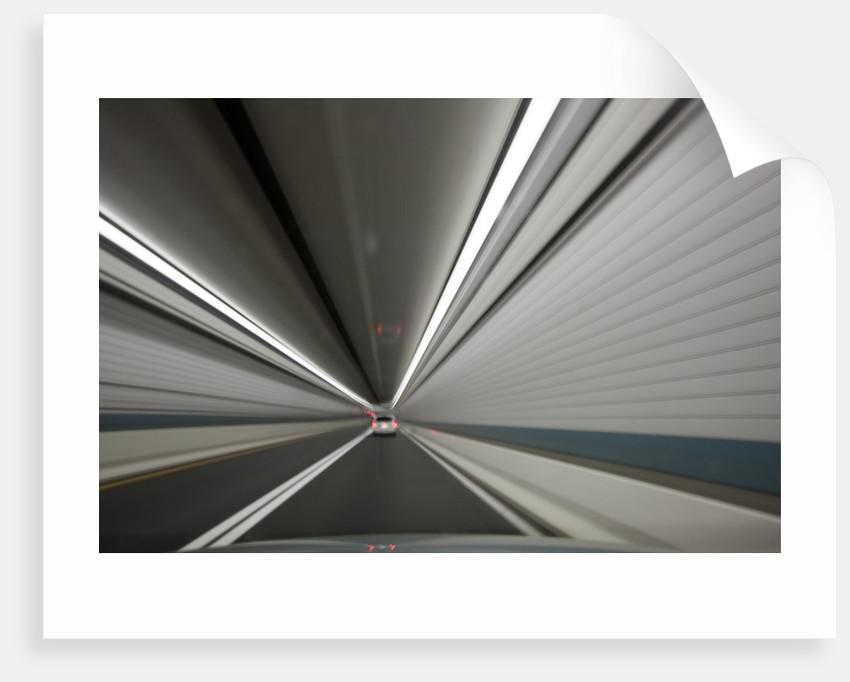Highway Tunnel Traffic, Boston, Massachusetts by Corbis