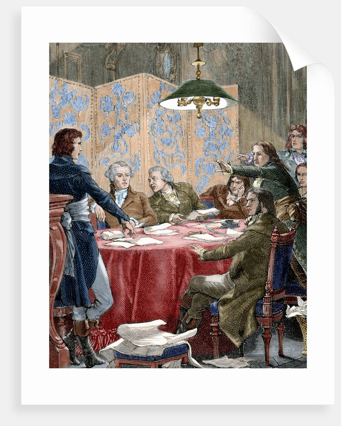 French revolution 1789 1799 the committee of public safety france posters prints by corbis for Poster revolution france