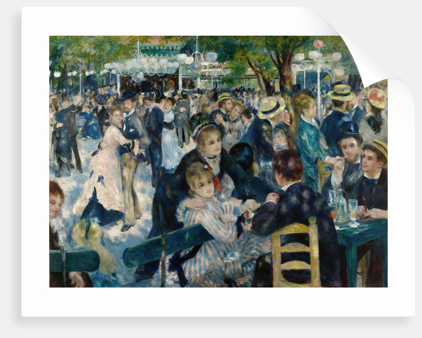Dance at Le Moulin de la Galette by Pierre-Auguste Renoir