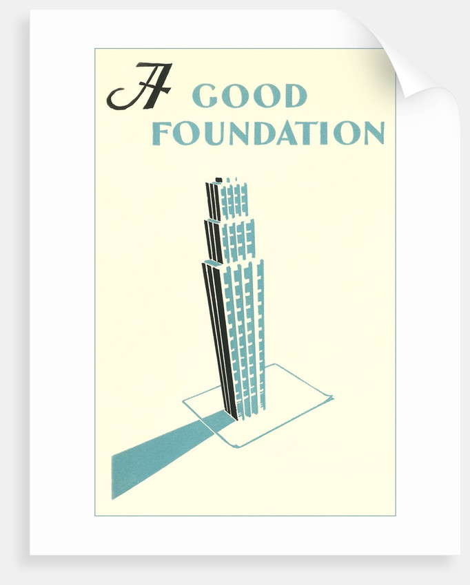 A Good Foundation by Corbis