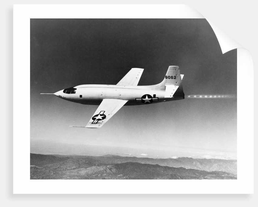 1940s 1950s Bell X-1 US air force plane by Corbis
