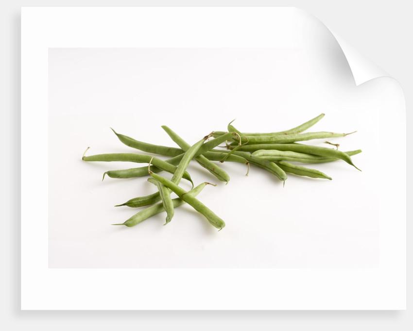 Green beans by Corbis