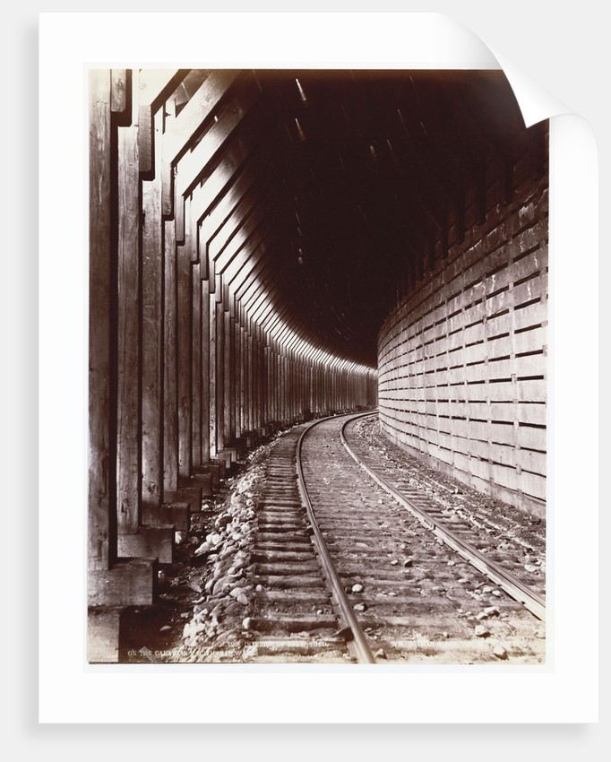 Canadian Pacific Railway by William Notman and Son by Corbis