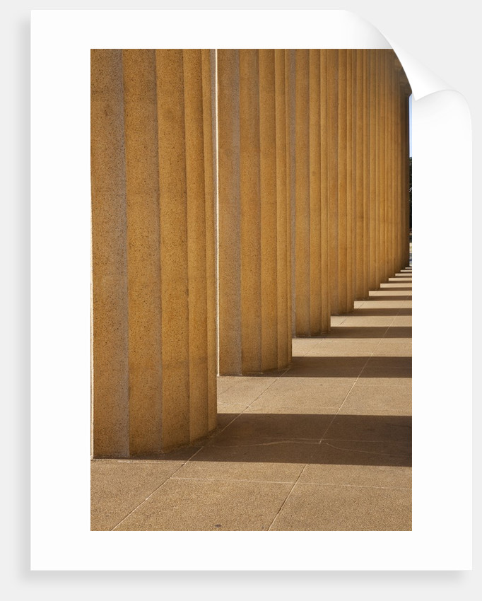 Columns of The Parthenon, Centennial Park, Nashville, Tennessee by Corbis