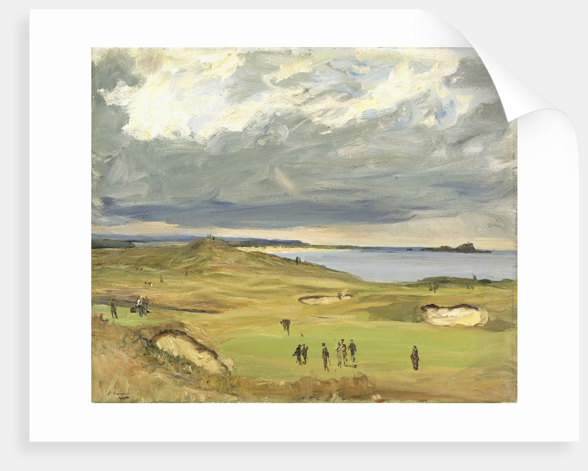 The Golf Links North Berwick Posters Amp Prints By Sir John