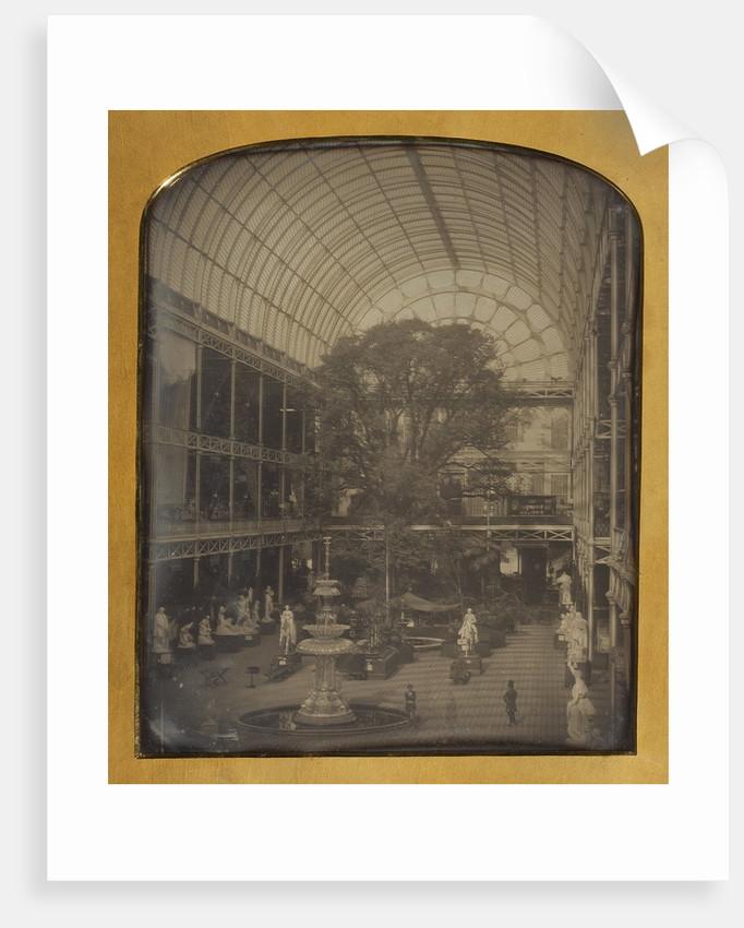 The Crystal Palace at Hyde Park, London by John Jabez Edwin Mayall