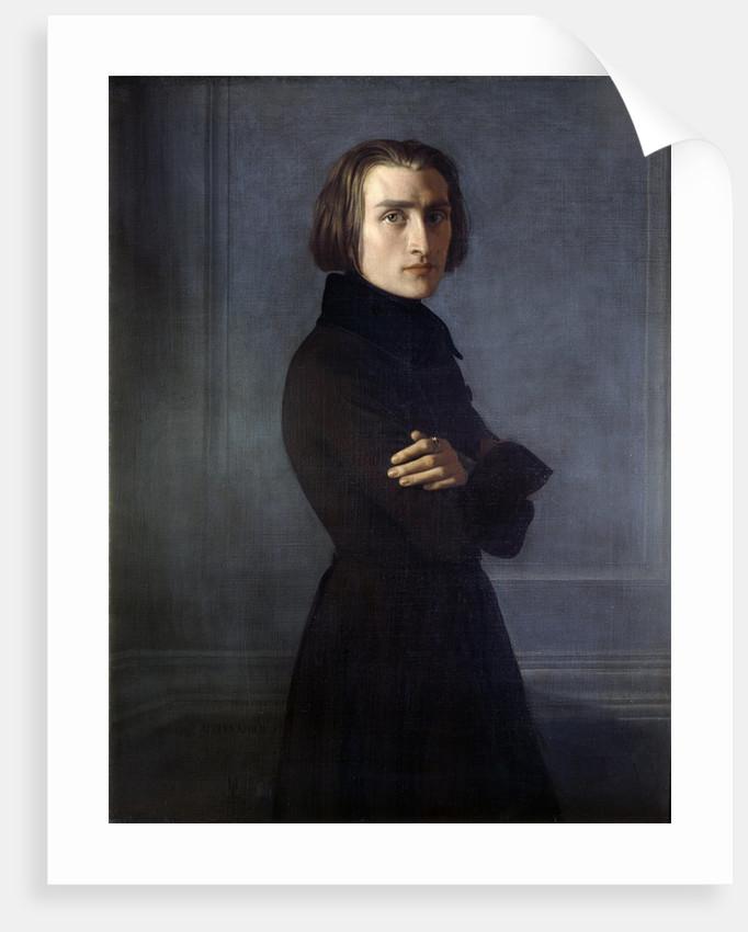 Portrait of Franz Liszt (1811-1886) by Corbis