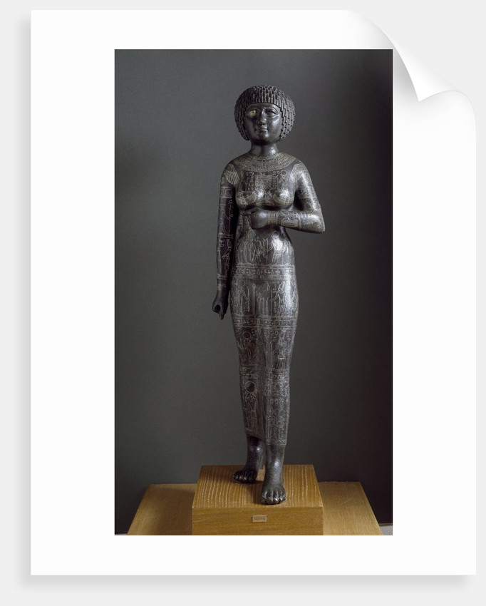 Statue of the Princess and Priestess Takushit by Corbis