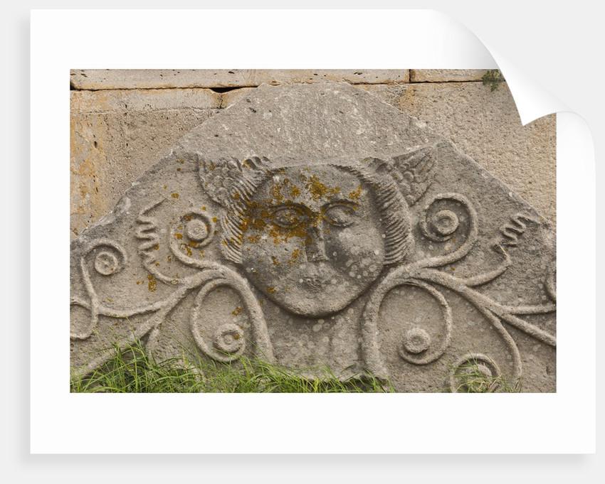 The archaeological ruins around Santissima Trinita church by Corbis