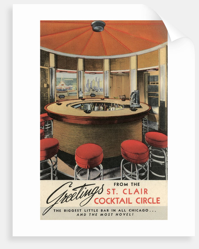 Forties Cocktail Lounge by Corbis