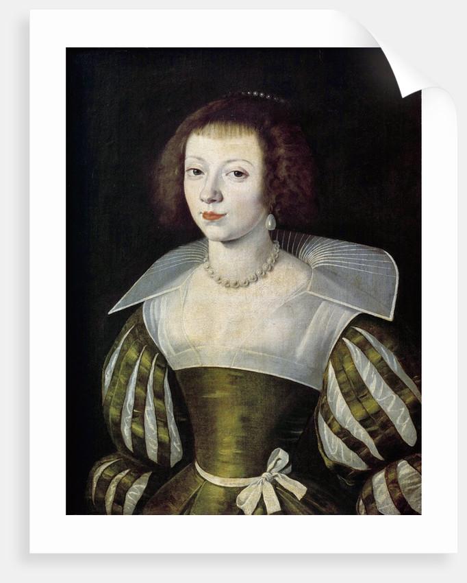 Portrait of a woman attributed to Etienne Dumonstier by Corbis