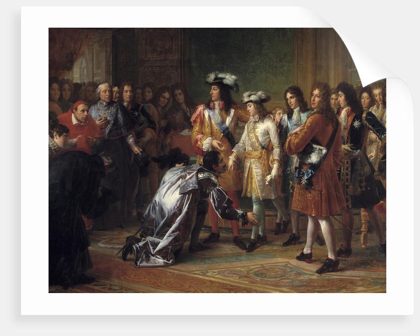 Duke of Anjou proclaimed King Felipe V of Spain by Francois Gerard