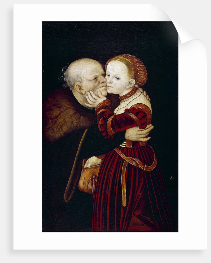The Old Fool by Lucas Cranach