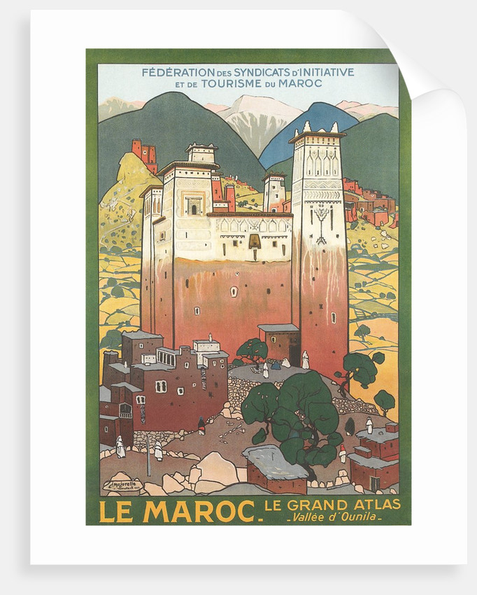 Morocco Travel Poster by Corbis
