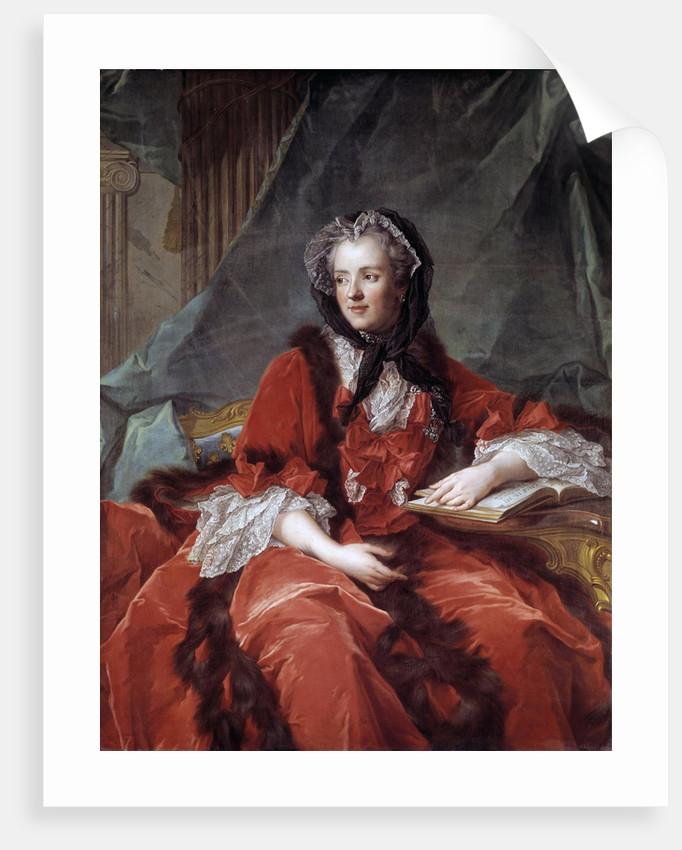 Portrait of Marie Lesczinska by Jean-Marc Nattier