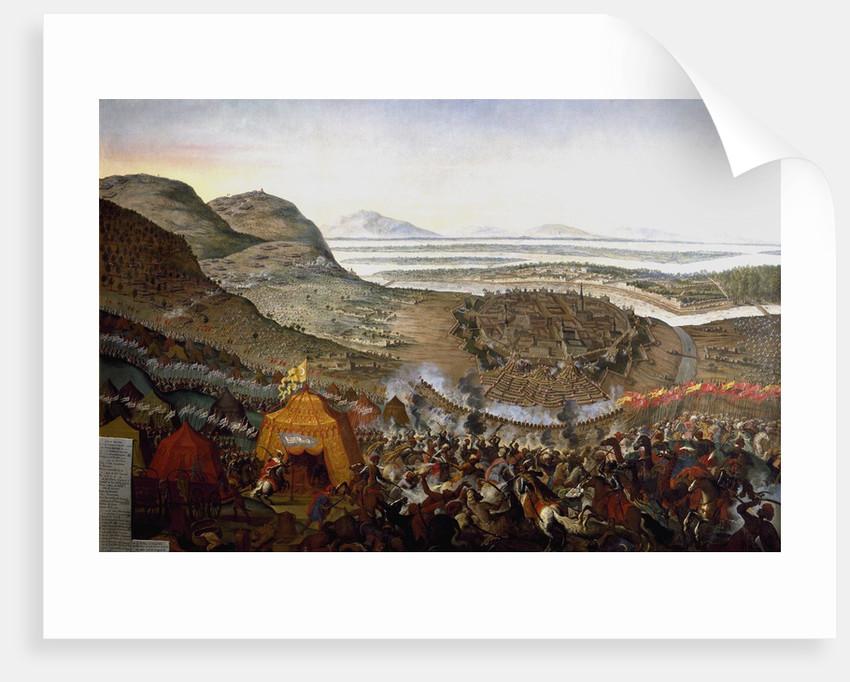 The Battle of Kahlenberg 1683 by Frans Geffels