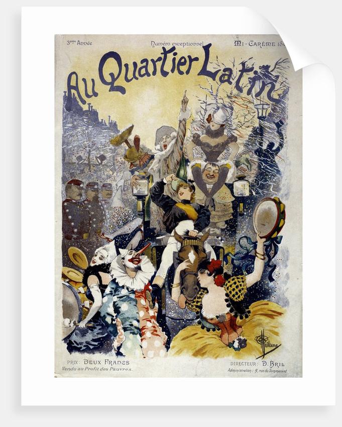 "Cover of ""Au quartier latin"", 1895 by Corbis"