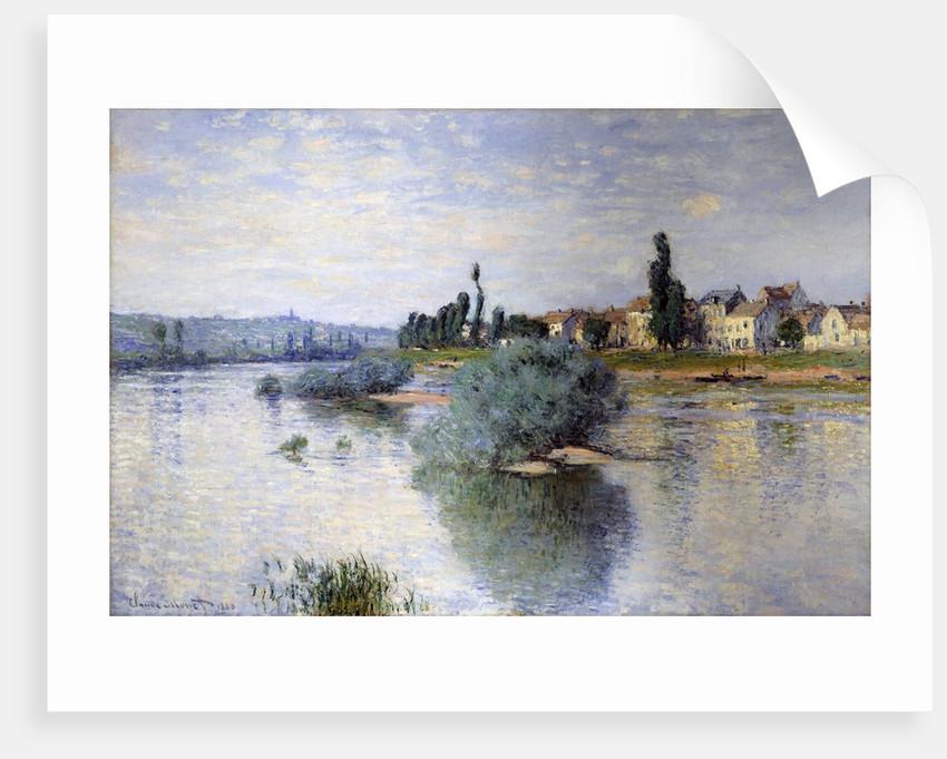 The Seine at Lavacourt by Claude Monet