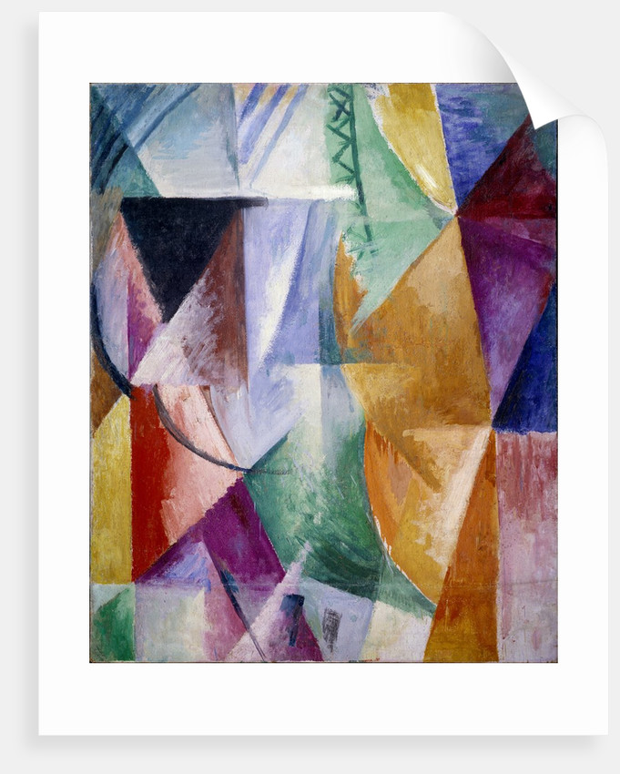 A window or study for three windows by Robert Delaunay