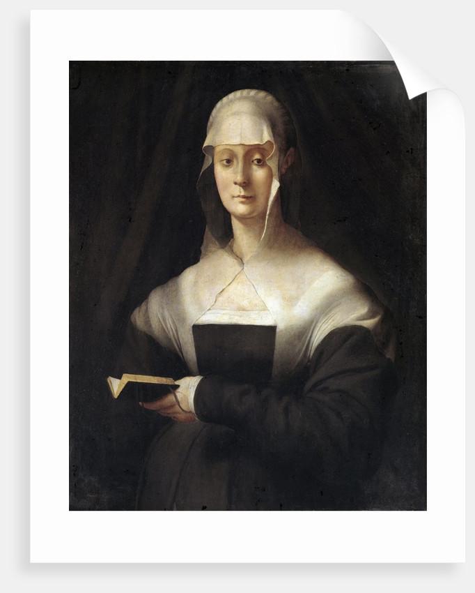 Portrait of Maria Salviati by Pontormo