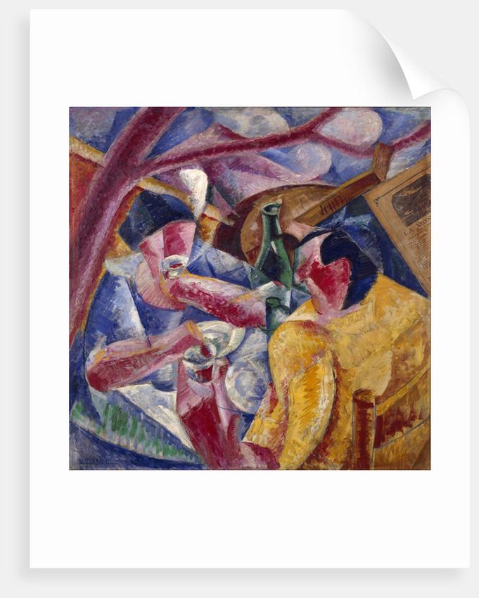 Under the Pergola in Naples by Umberto Boccioni