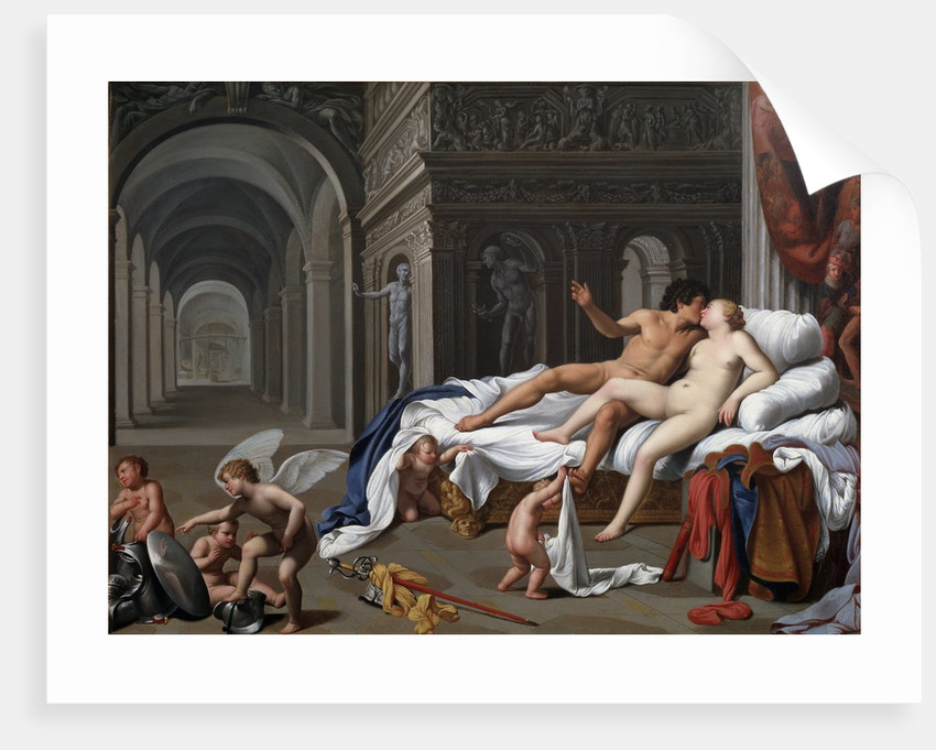 Venus and Mars by Carlo Saraceni